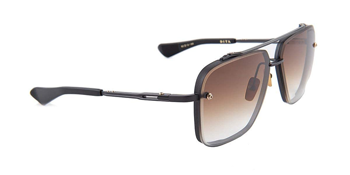 Amazon.com: Dita MACH-SIX MATTE BLACK/BROWN SHADED 62/12/130 ...