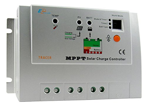 MPPT Tracer1210RN Solar Charge Controller Regulator 12/24V INPUT 10A by Tracer