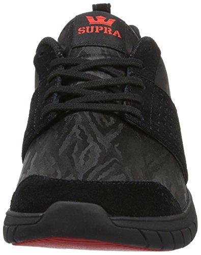 Supra Skate Black Scissor Shoe Suede 848aqPn
