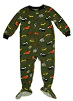 Carter's Baby Boys 1 Pc Fleece Footed Pajamas