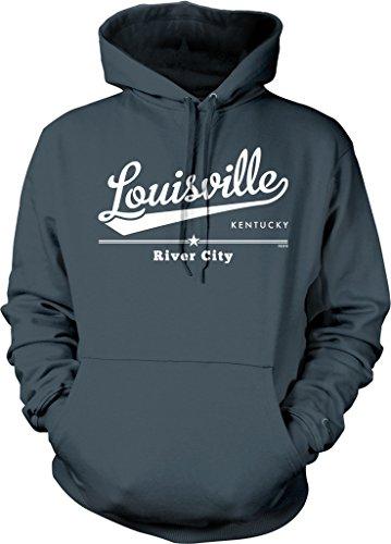 Louisville, Kentucky, River City Hooded Sweatshirt, NOFO Clothing Co. XXL ()