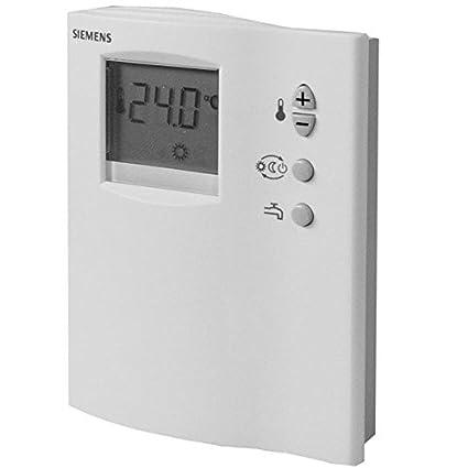 Siemens termostato regulador de la temperatura con semanas programador RDD10, 1DHW Termostato de ambiente/
