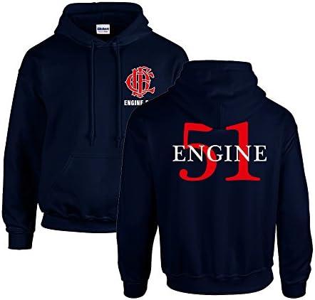 Chicago Fire Dept. - Engine 51 Pullover mit Kapuze