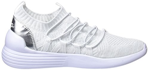 Sports Elastico 41489 Shoes Women bass3d Blanco AYxwZ6qPxa
