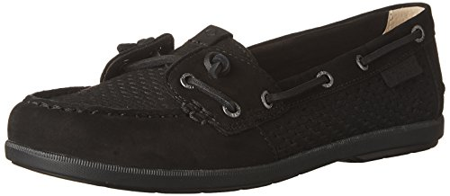Sperry Top-sider Coil Ivy Scale Emboss Shoe Shoe Nero
