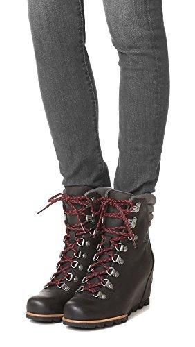 Wedge SOREL Booties Conquest Women's Dark Grey Black 7qqSBU