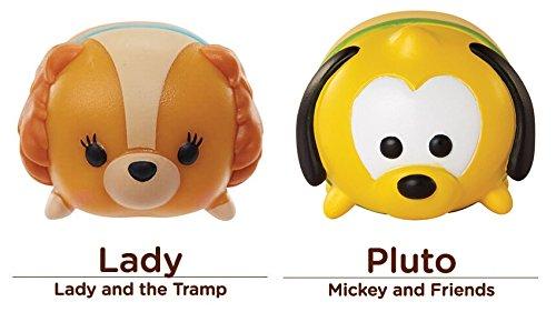 Disney Tsum Tsum 2 Figure Classic Puppy Dog Characters Pack