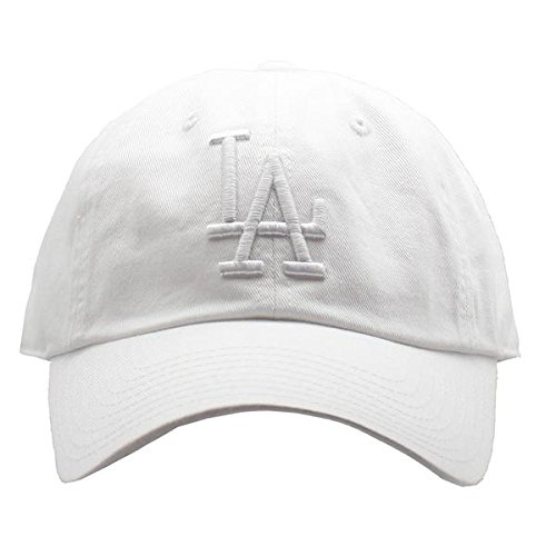Los Angeles Dodgers MLB American Needle Tonal Ballpark Slouch Cotton Twill Adjustable Hat (Snow White)