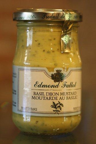 Edmond Fallot Dijon Mustard with Basil (7 ounce)
