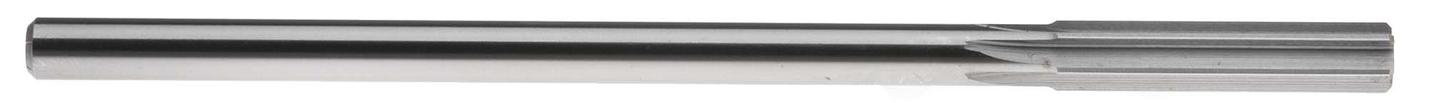 U (.368'') Straight Shank Chucking Reamer, Straight Flute, High Speed Steel
