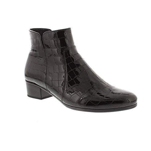 Basic Shoes Noir 97 Schwarz Botines Femme Gabor 865Hqww