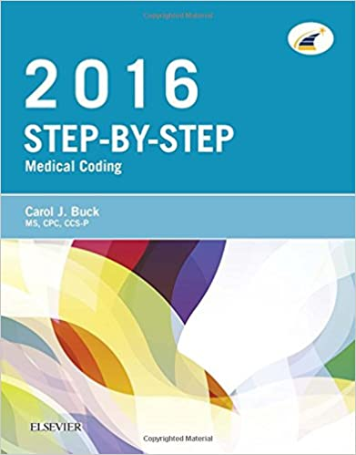 Step By Step Medical Coding 2016 Edition 1e 9780323389198