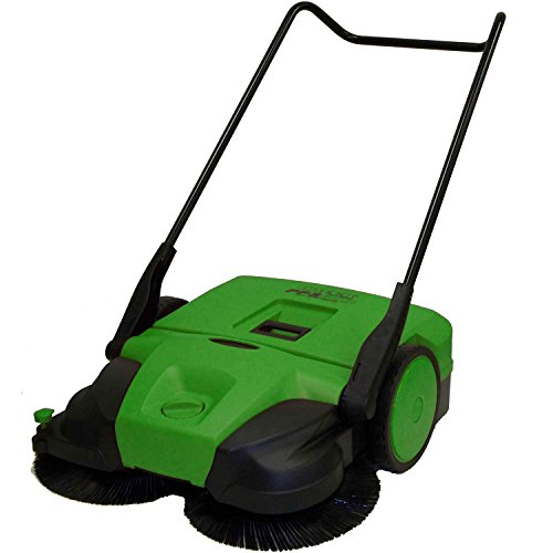 Bissell 31'' Deluxe Triple Brush Push Power Sweeper Turbo, 13.2 Gal. Capacity by Bissell Commercial