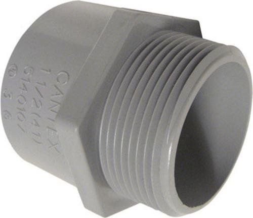 Cantex 5140103u Pvc Male Terminal Adapter, 1/2