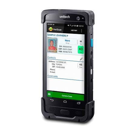 PA730 Rugged Handheld Mobile Driver License Scanner, Total Solution with  VeriScan Mobile Software for Access Control and Age Verification - IDWare