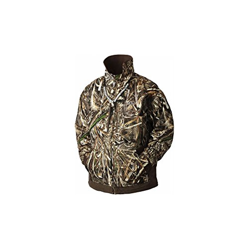 Drake Men's MST Waterfowl Fleece-lined Full Zip 2.0 (RealTree Max 5, Large)
