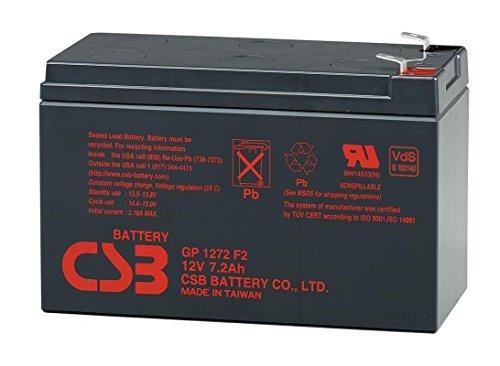 CSB GP1272F2, 12 Volt/7.2 Amp Hour Sealed Lead Acid (Hour Sealed Lead Acid Battery)