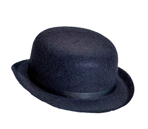 [Forum Novelties 21139 Hat-Derby Felt, Black] (A Clockwork Orange Alex Costume)