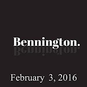 Bennington, Judd Apatow, February 3, 2016 Radio/TV Program