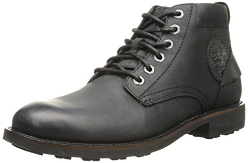 Mark Nason by Skechers Men's Kington Chukka Boot,Black Leather,10 M US