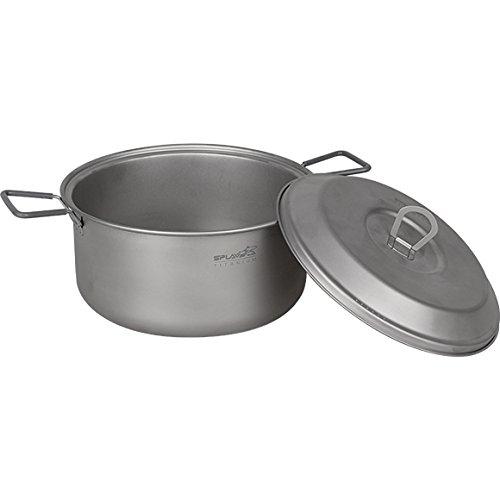 Lightweight Titanium Pot 2.5L Outdoor Cooking Camp