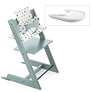 Stokke 2019 tripp trapp high chair complete for Stokke tripp trapp amazon