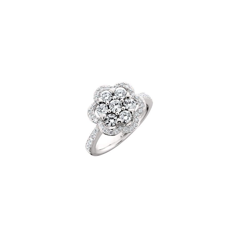 1.25 Carat 18kt White Gold Diamond Ring