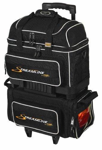 Storm Streamline 4-Ball Bowling Bag, Black by Storm