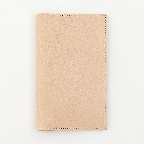 [Midori] MD series notebook jacket H187~W235mm made of goat skin