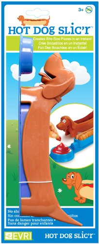 Evriholder HDH Hot Dog Slicer, Colors May Vary (Dog Slicer compare prices)