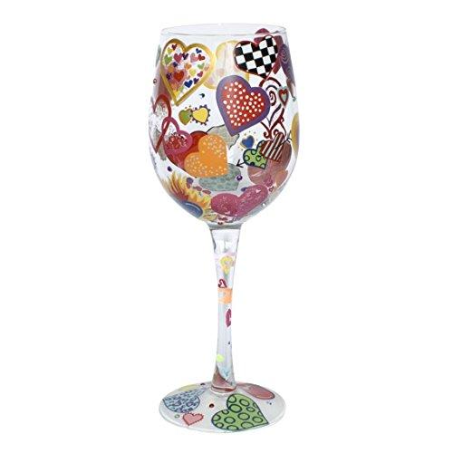 Lolita Heart-Rageous Wine Glass