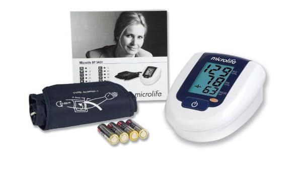 Microlife 3AG1 Antebrazo Automático - Tensiómetro (AA, 1,5 V, LCD): Amazon.es: Hogar