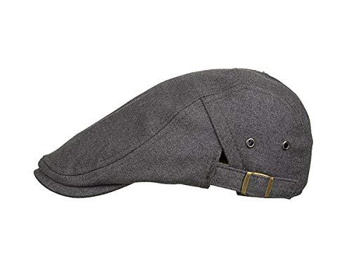 Hombres qin Sombrero Bailey para Sombrero Laterales para GLLH Pato Color Informal Sombrero Hombres hat D C de Sombreros Botones sólido de ZdzqF6