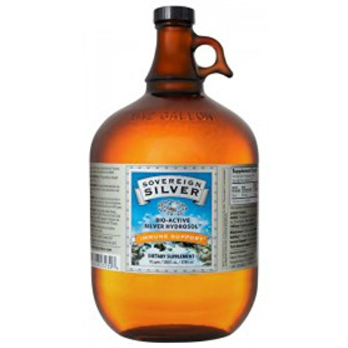 Sovereign Silver Hydrosol by Natural Immunogenics (128 oz (1 gallon))