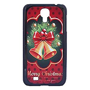 Christmas Classical Grind Arenaceous Plastic Back Case for Samsung Galaxy S4 I9500