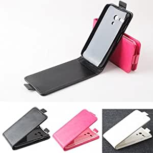 Magnetic Flip-open PU Leather Protective Case For Motorola Moto G --- Color:White