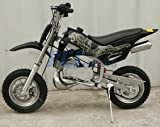 DB49A YELLOW 49CC 50CC 2-STROKE GAS MOTOR MINI DIRT PIT BIKE