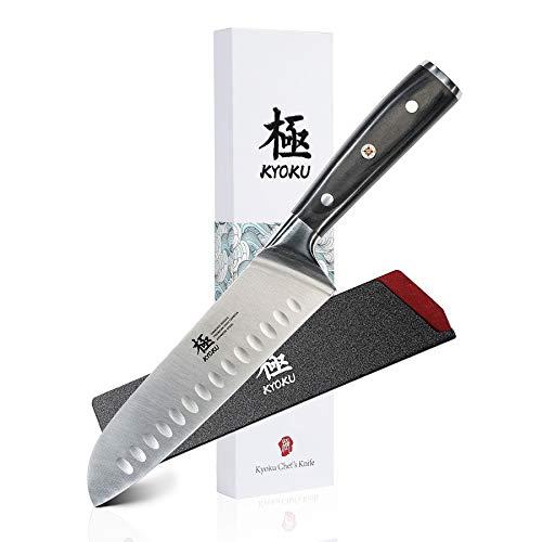 KYOKU Samurai Series - Santoku Chef Knife 7