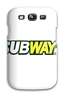 Top Quality Case Cover For Galaxy S3 Case With Nice Subway Logo Appearance
