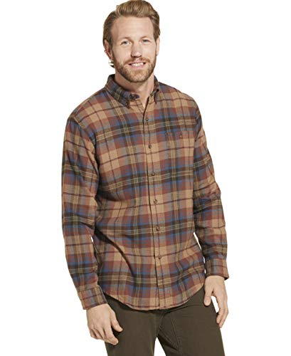 Flannel Good - Dam Good Supply Co Men's Long Sleeve Flannel Shirt Medium Ermine