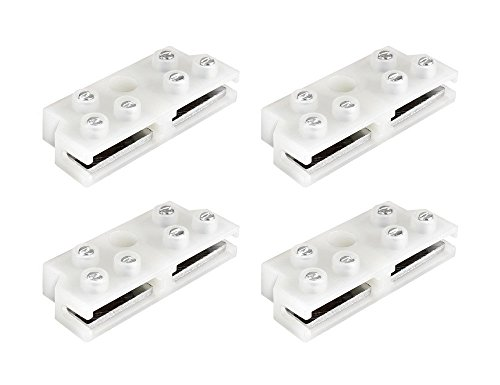Flat Terminals - Sewell Ghost Wire Terminal Block, 14, 16, and 18 AWG, 4 Pack