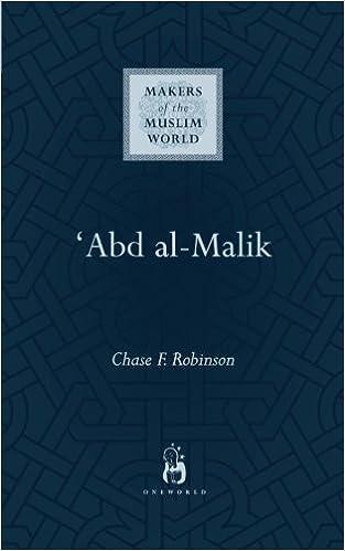 Abd Al Malik Makers Of The Muslim World Amazoncouk Chase F Robinson 9781851685073 Books