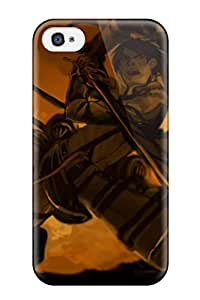 Ideal CaseyKBrown Case Cover For Iphone 4/4s(attack On Titan), Protective Stylish Case