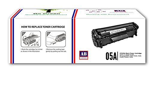 AB 05A / CE505A Compatible Black Toner Cartridge for HP Printers