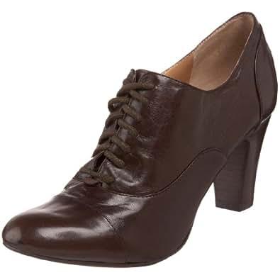 Nine West Women's Roothy Dress Oxford,Dark Brown Leather,10 M US