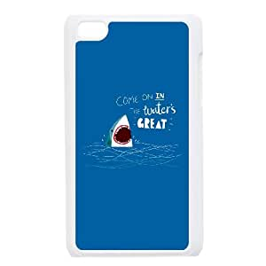 Great Advice Shark Ipod Touch 4 Case White 218y-065936