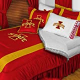 NCAA Iowa State Cyclones - 3 Pc Comforter Set - Queen and Full Size Bedding