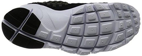 Nike Mens Air Footscape Geweven Nm Casual Schoen Zwart / Zwart / Antraciet / Wit