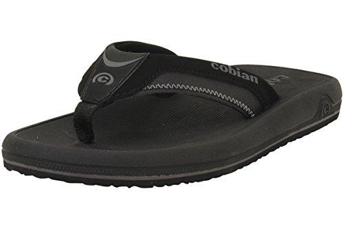 Cobian Men's OTG Flip Flop, Black, 8 M US