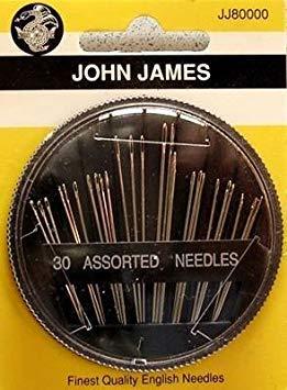 John James Needle 30 pc Assorted